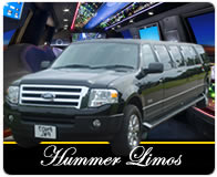 Stretched Hummers and Lincoln Limousines